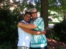 The great Kathy Bull & I