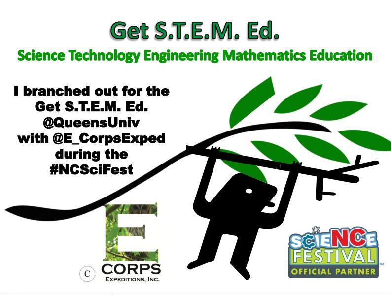 Get STEM Ed. NC Science Festival