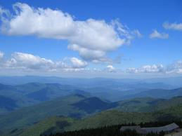 View Mt Mitchell