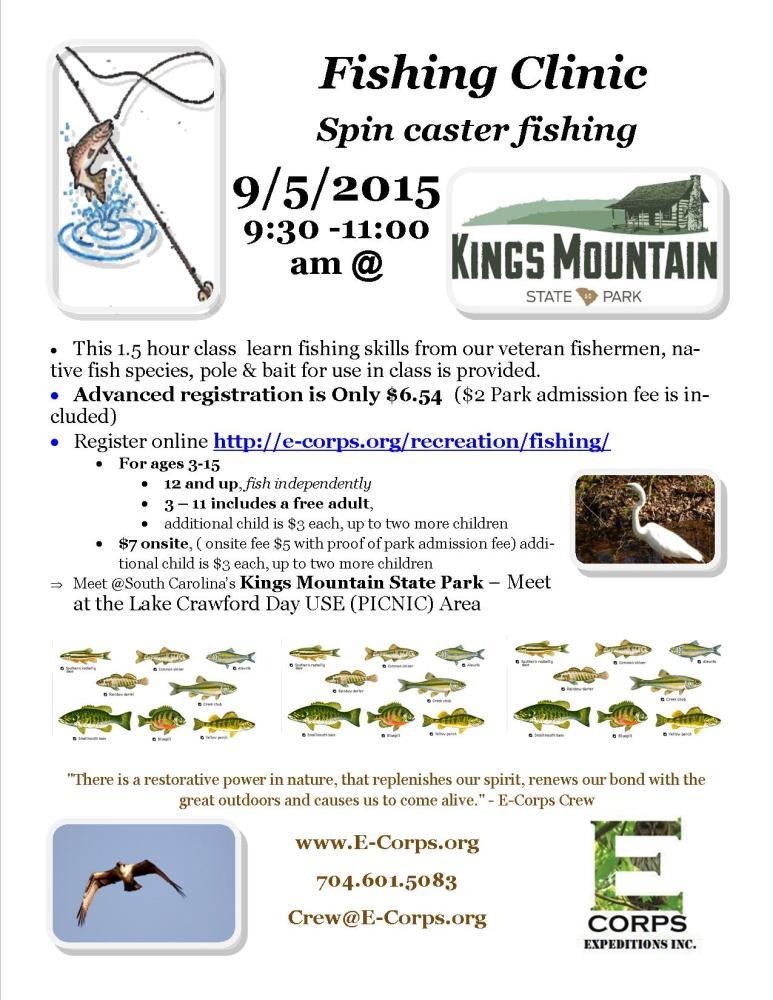 Fishing Clinic by E-Corps (1/2)